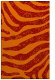 rug #1320515 |  orange damask rug