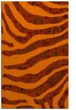 rug #1320527 |  red-orange animal rug