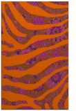 rug #1320535 |  red-orange damask rug