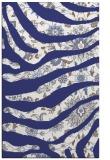 rug #1320551 |  blue damask rug