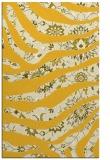 rug #1320571 |  yellow damask rug