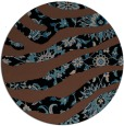 rug #1320635 | round black natural rug