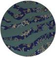 rug #1320659 | round blue natural rug