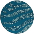 rug #1320671   round blue-green animal rug