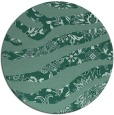 rug #1320675 | round blue-green natural rug