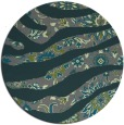 rug #1320751 | round green abstract rug