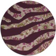 rug #1320795 | round abstract rug