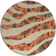 rug #1320839 | round beige natural rug