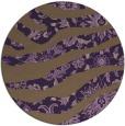 rug #1320871 | round purple animal rug