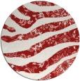 rug #1320887   round red animal rug