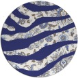 rug #1320919 | round blue abstract rug