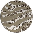 rug #1320935 | round beige damask rug