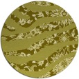 rug #1320959 | round light-green abstract rug