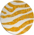 rug #1320975 | round light-orange animal rug