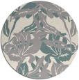 rug #1321403 | round beige natural rug