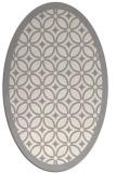 rug #1321435   oval white borders rug