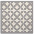 rug #1321651 | square beige circles rug