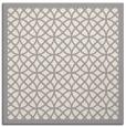 rug #1321931 | square white borders rug
