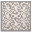 rug #1321971 | square beige circles rug