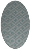 rug #1322178 | oval check rug