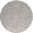 rug #1322203 | round white natural rug