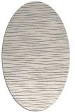 rug #1322315 | oval beige natural rug