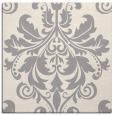 rug #1322411 | square white damask rug