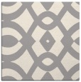 rug #1322516 | square white graphic rug