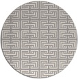 rug #1322548 | round beige traditional rug