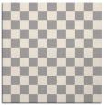 rug #1322696 | square white check rug