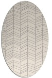 rug #1322800 | oval white natural rug