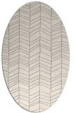 rug #1322800 | oval white popular rug