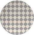 rug #1322868 | round beige check rug