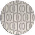 rug #1322888 | round white stripes rug