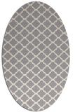 rug #1323000 | oval beige traditional rug