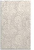rug #1323124 |  white circles rug