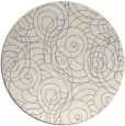 rug #1323128 | round beige circles rug