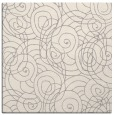 rug #1323136 | square beige circles rug