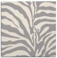 rug #1323256 | square white animal rug