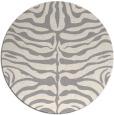 rug #1323328 | round beige animal rug