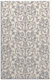rug #1323404 |  white damask rug