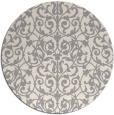 rug #1323408 | round beige natural rug