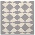 rug #1323596 | square white check rug