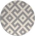 rug #1323768 | round beige geometry rug