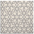 rug #1323956 | square white geometry rug