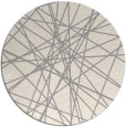 rug #1323988 | round beige abstract rug