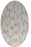 rug #1324160 | oval white natural rug