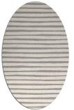 rug #1324220 | oval white rug