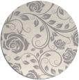 rug #1324308 | round beige natural rug