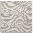 rug #1324396 | square white graphic rug